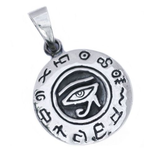 Eye of Horus Ra Silver Pendant (P030)